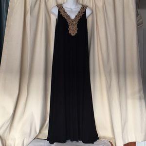 Calvin Klein maxi embellished dress